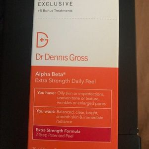 Dr Dennis Gross peel pads NWT